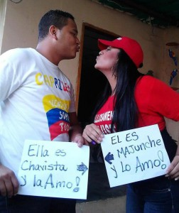 Photographie issue de ClubVenezuela et largement diffusée sur Facebook.