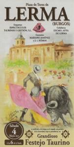 Cartel de la corrida de toros organizada por las monjas. Imagen de la página de Facebook de este evento.