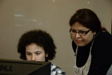 Interveción en Maloka el Día de Internet. Ley Lleras para cuidadanos y Piratas. Foto por Luis Alejandro Bernal Romero, compartida en Flickr por RedPaTodos Aztlek (CC BY-SA 2.0)
