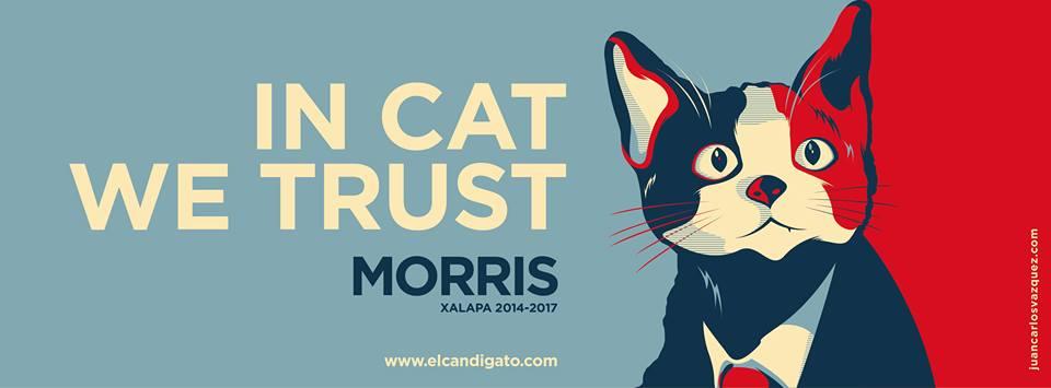 Foto compartida en el perfil de Facebook El Candigato Morris