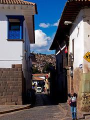 Tipična ulica u Kusku.