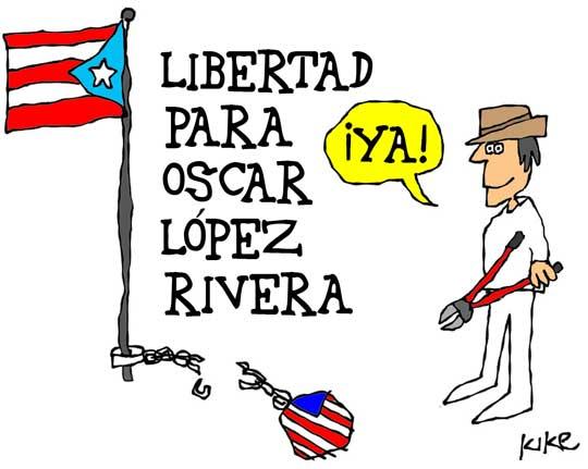 Caricatura por Kike Estrada.