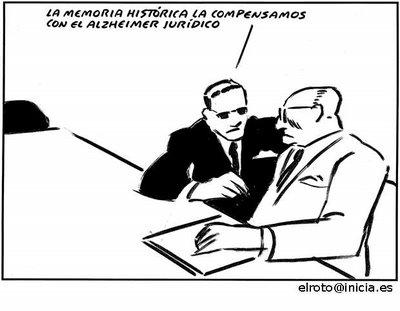 Viñeta de El Roto publicada en la web de la Federación Estatal de Foros por la Memoria.