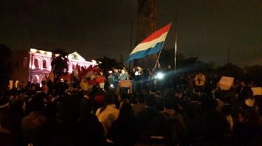 Protesta Paraguay Junio 13