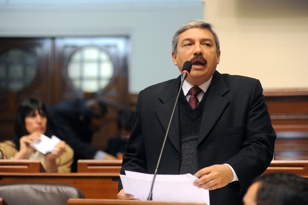 Congresista Alberto Beingolea Delgado. Foto del Congreso de la República del Perú en Flickr (CC BY 2.0)