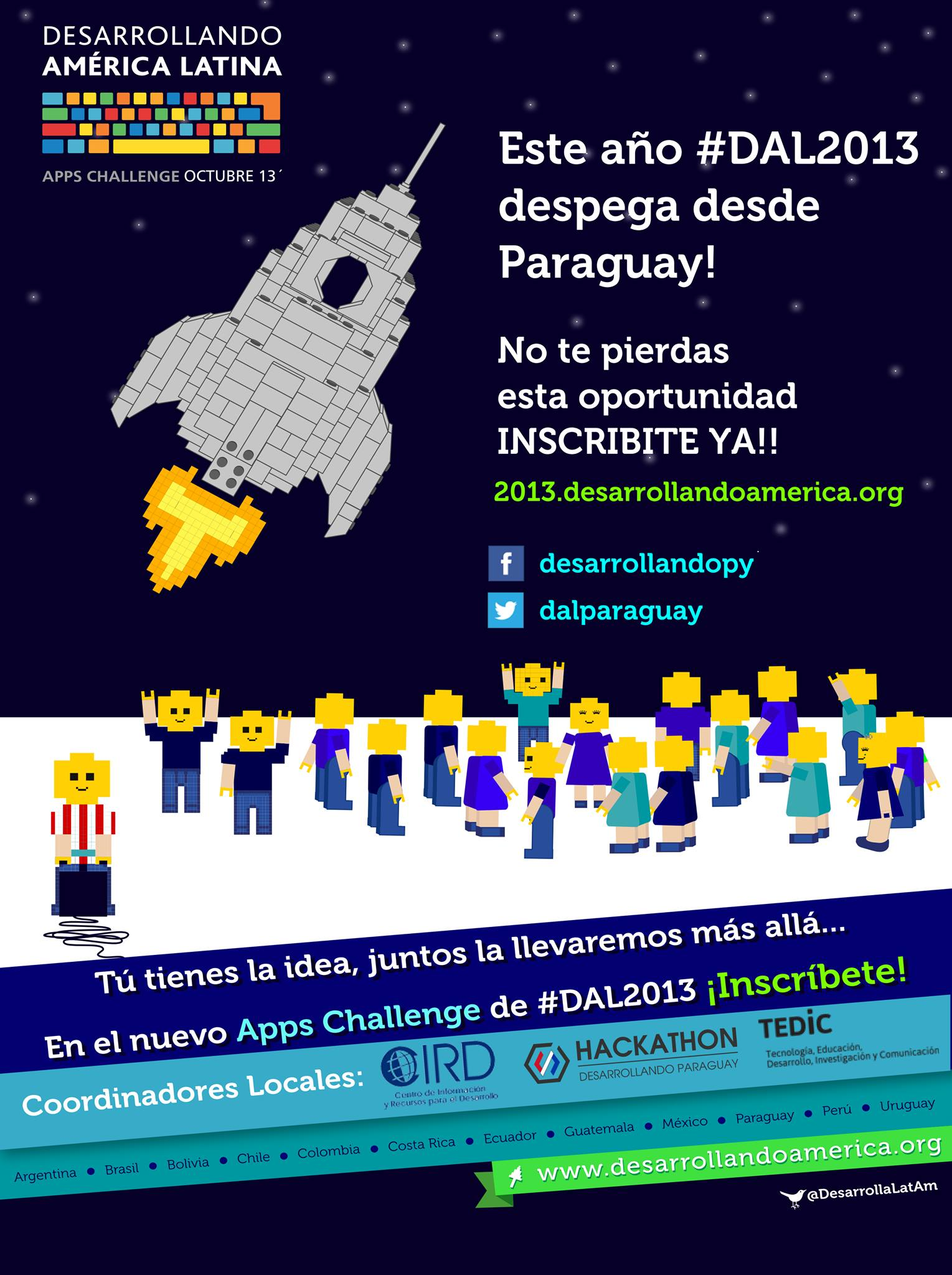 Foto compartida por DAL Paraguay en Facebook