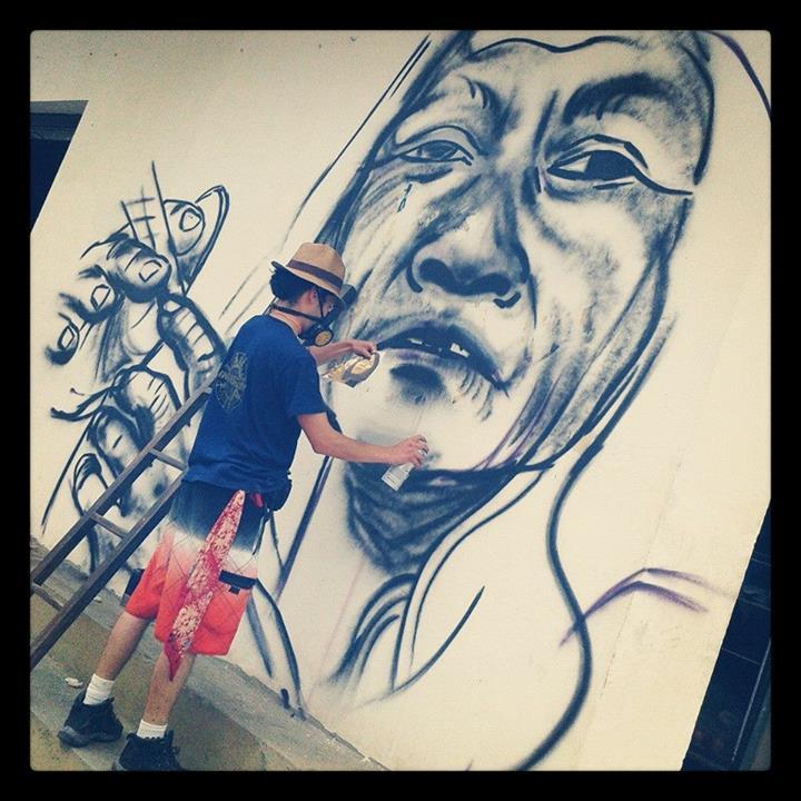 Foto compartida por Minga de Muralistas de los Pueblos en Instagram.