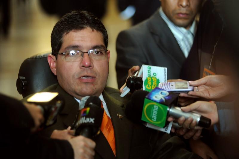 Michael Urtecho, foto de Congreso de la República del Perú en Flickr, bajo licencia Creative Commons (CC BY 2.0)