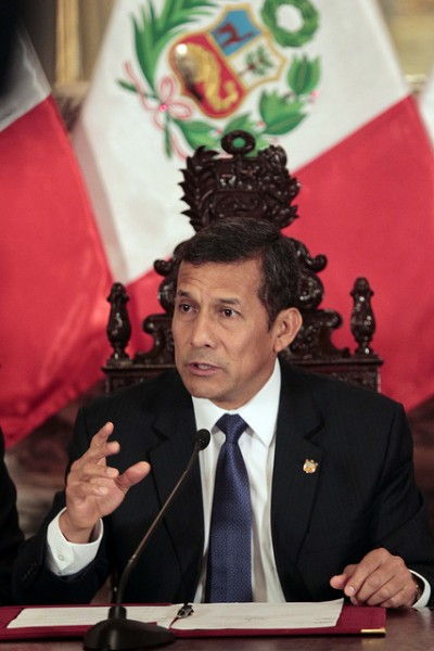 Presidente Ollanta Humala. Foto de Presidencia de Perú en Flickr (CC BY-NC-SA 2.0)