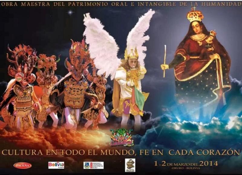 Manifesto ufficiale Carnevale di Oruro