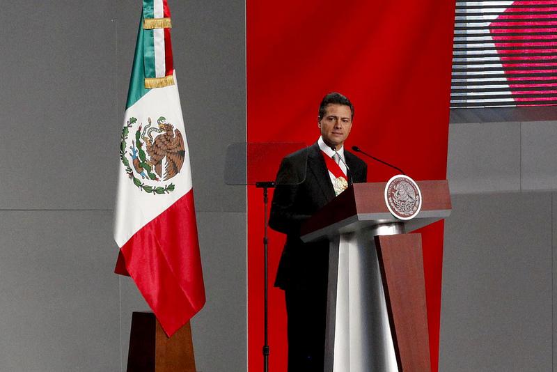 Toma de Posesión de Enrique Peña Nieto, 1 de diciembre del 2012. Foto compartida por Cancillería de Ecuador en Flickr, bajo licencia Creative Commons (CC BY-SA 2.0)