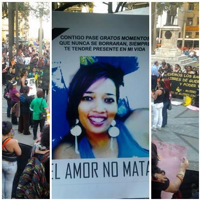 Nataly Palacios es la mujer en cuyo homenaje se realiza la campaña: El amor no mata