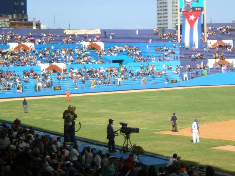 Estadio Latinoamericano en La Habana (Foto cortesía de la autora)
