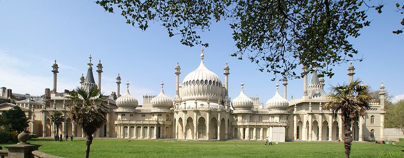 Brighton Royal Pavilion Panorama (Foto: Wikimedia Commons)