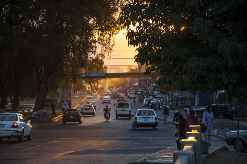 Avenida Blanco Galindo de Cochabamba – Bolivia. Fotografía: Mijhail F. Calle Ruiz