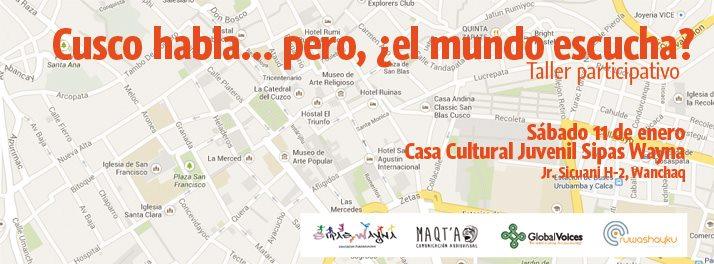 Imagen evento, Cusco markax arsuskiwa