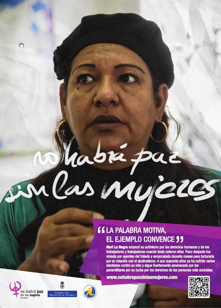 Defensora de derechos humanos (Foto: Alex Zapico)