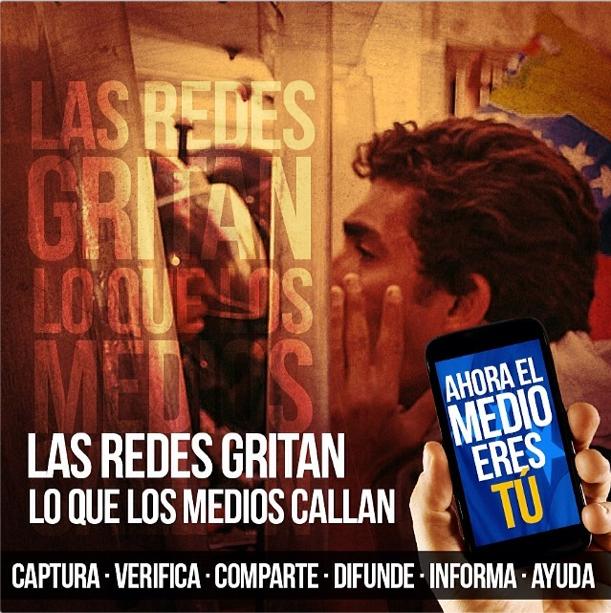 Imagen para la campaña #ElMedioEresTu a cargo de @untalhector (Instagram).
