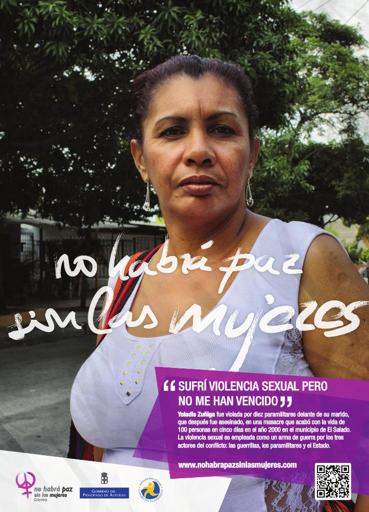 Superviviente de la matanza de El Salado (Foto: Patricia Simón)
