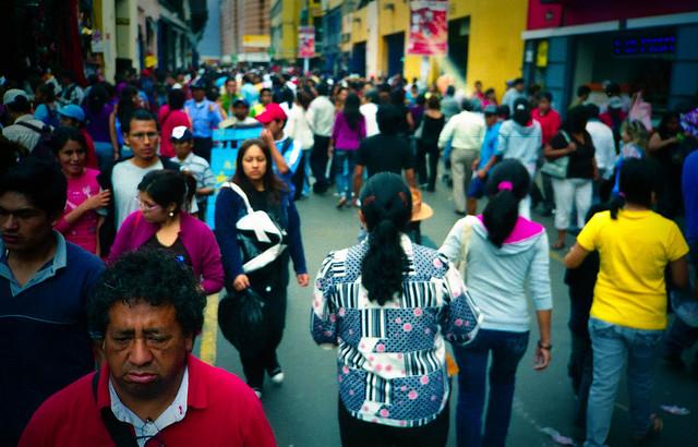 Calles de Lima, Perú