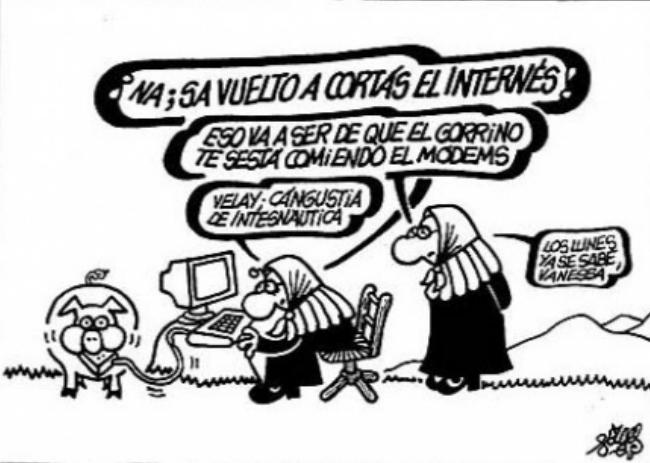 Viñeta de Forges. Imagen de la web del Colegio de Ingenieros de Aragón