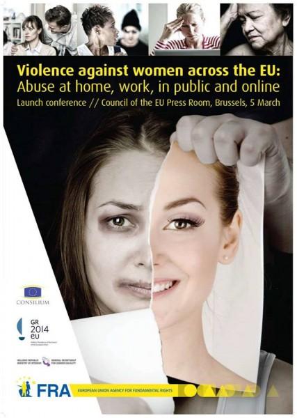Convocatoria de la presentación del Informe sobre «Violencia contra las mujeres en la UE». Foto de la página de la Agencia de Derechos Fundamentales de la UE en Facebook, utilizada con autorización.