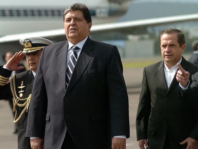 Expresidente Alan García.