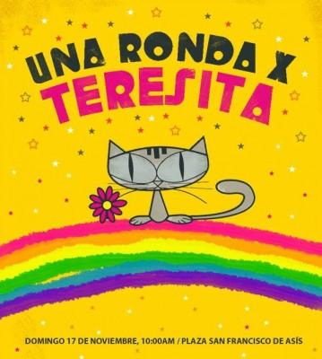 Cartel de #cantateresita