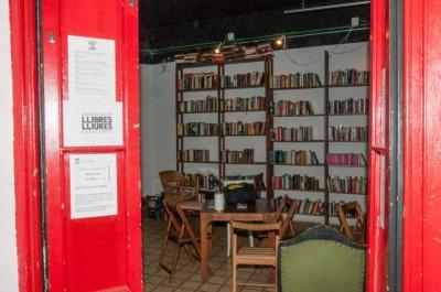El nuevo local de la asociación en el Born, Barcelona.