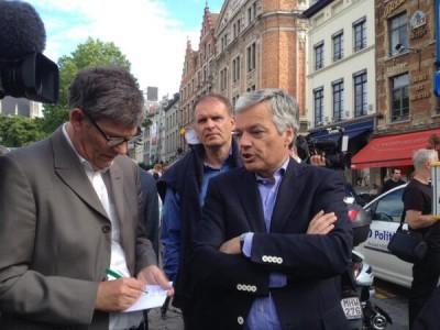 El ministro belga de Asuntos Exteriores, que se encontraba en las proximidades del Museo Judío en el momento de la tragedia.