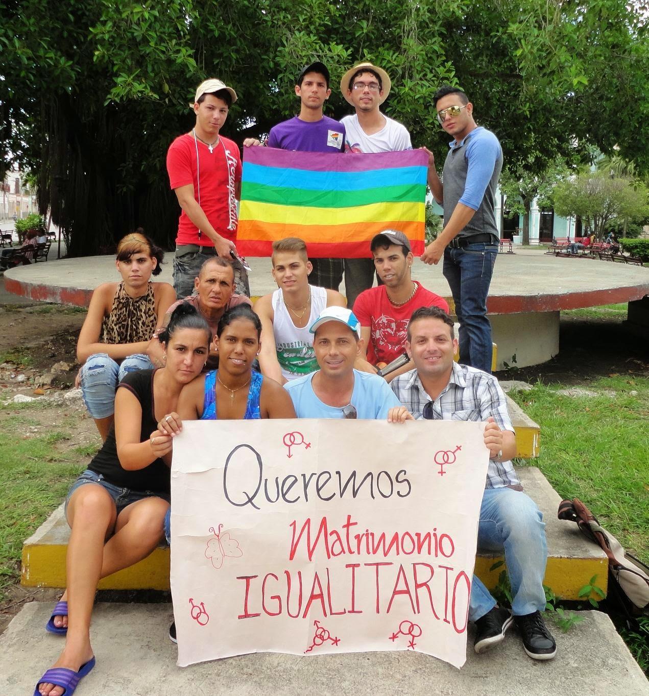 Besada por la diversidad Cuba