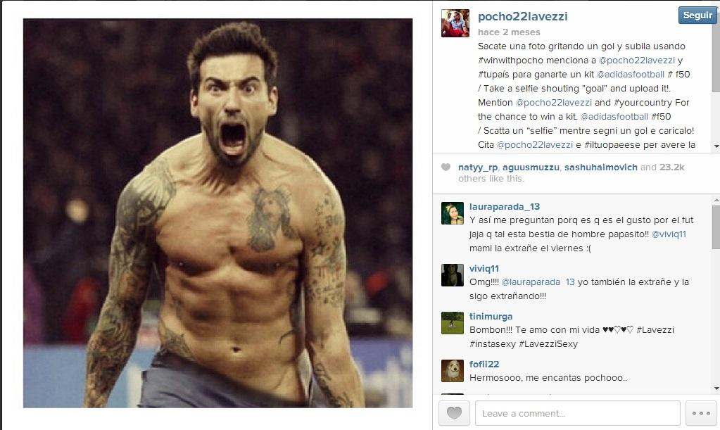 lavezzi instagram
