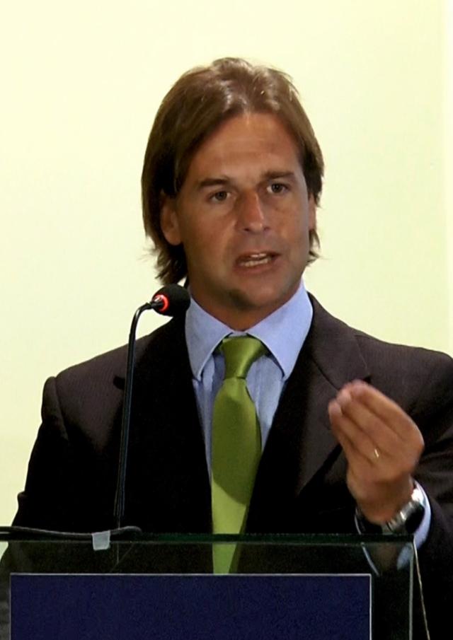 Candidato Luis lacalle Pou. Imagen de Wikimedia Commons  (CC BY-SA 3.0).