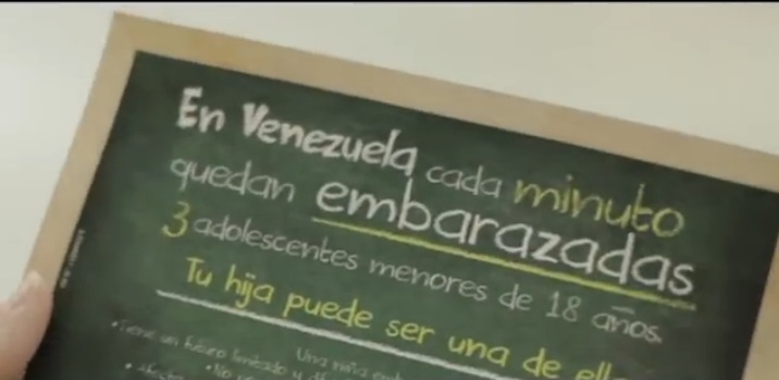 Captura del video de la campaña de Vitrina Verguenza.
