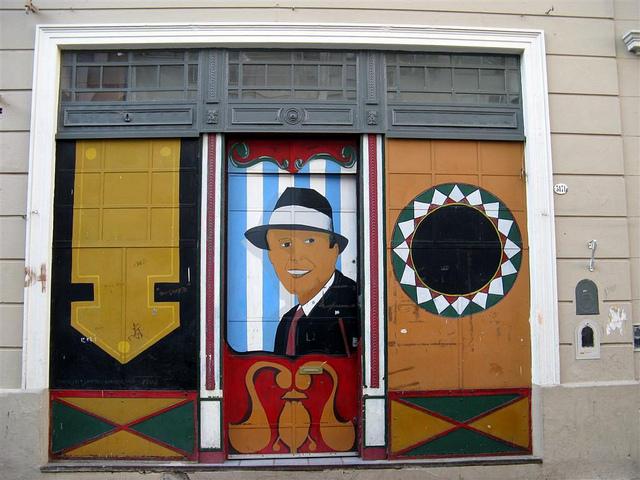 Carlos Gardel. Imagen en Twitter de la usuaria  Luciana Monte (CC BY-NC-SA 2.0)