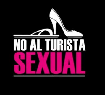 """""""Ne sexuální turistice."""" Obrázek z videa na YouTube."""