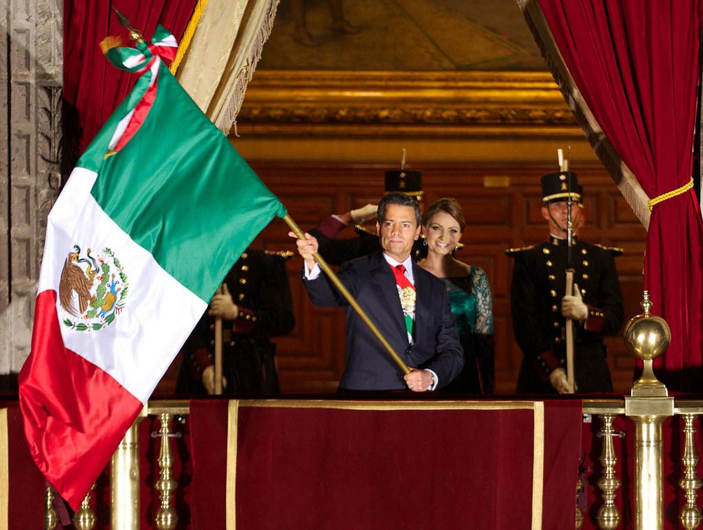 Emrique Peña Nieto, presidente de México. Imagen en Flickr de la Presidencia de la República Mexicana  (CC BY-SA 2.0).
