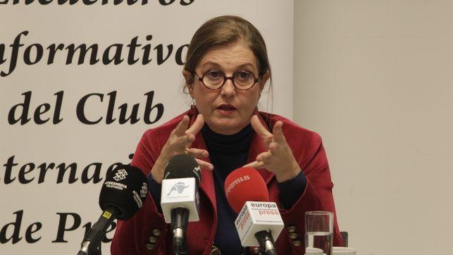 Mónica Oriol, la polémica presidenta del Círculo de Empresarios. Foto de Eldiario.es, con licencia CC BY-SA 3.0