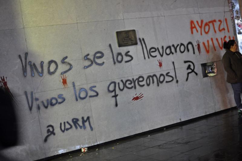 Ciudad de México. 8 de octubre de 2014. Foto de  Débora Poo Soto, Demotix.