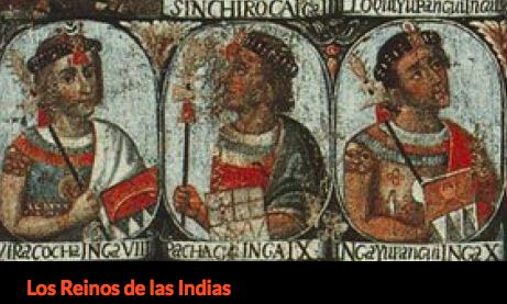 Captura de pantalla del blog Los Reinos de las Indias.