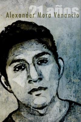 Ilustración de Alexander Mora Venancio hecha por Kathia Recio del movimiento #IlustradoresConAyotzinapa