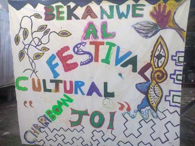 Banner - Bienvenidos al Festival Chariboan Joi