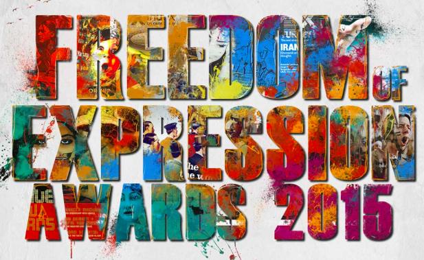 Afiche de los premios Index a la libertad de expresión