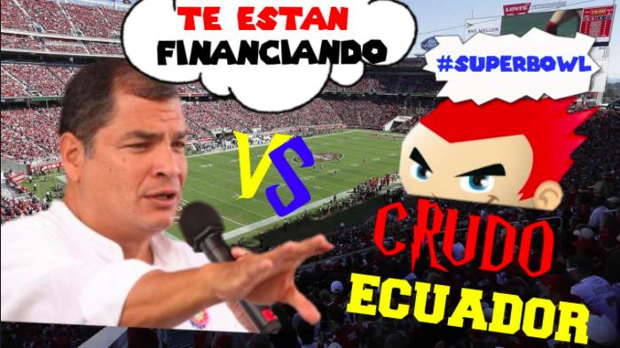 Meme de @CrudoEcuador con presidente Rafael Correa