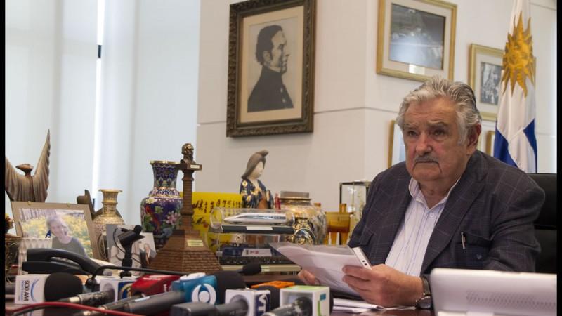 Imagen de la página web de Jose Mujica
