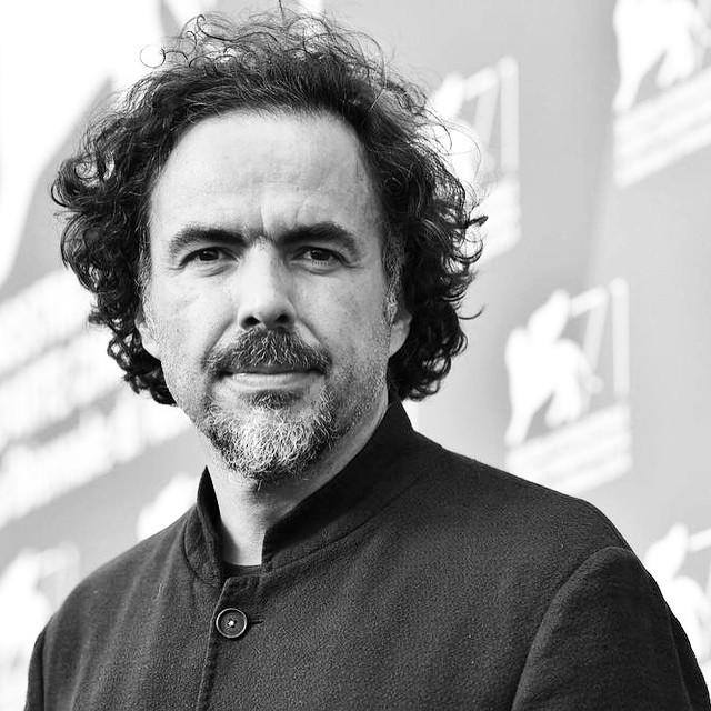 El director de cine mexicano Alejandro González Iñárritu, Oscar 2015 al mejor director por la cinta Birdman