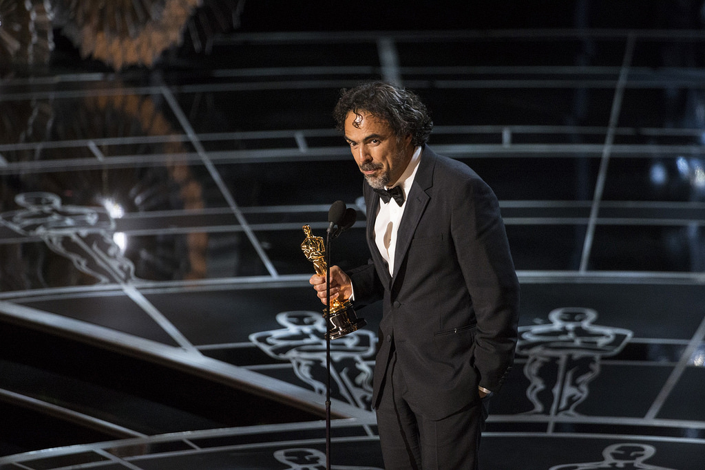 THE OSCARS(r) - THEATRE - The 87th Oscars, held on Sunday, February 22, 2015, at the Dolby Theatre(r) at Hollywood & Highland Center(r), are televised live on the ABC Television Network at 7 p.m., ET/4 p.m., PT. (ABC/Craig Sjodin) ALEJANDRO G. INARRITU