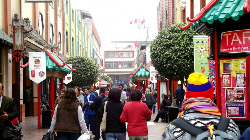Lima Chinatown. Image on Flickr by user patrikalex (CC BY-NC-SA 2.0).