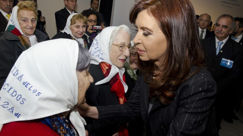 Presidenta argentina Cristina Fernández de Kirchner. Foto en Twitter (CC BY-SA 2.0).