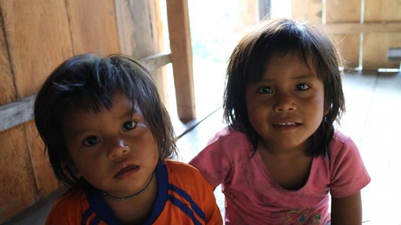 Niños de la comunidad. Imagen usada con autorización del proyecto.